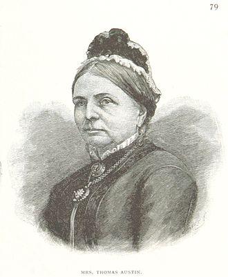 Thomas Austin - Elizabeth Phillips Harding, wife of Thomas Austin