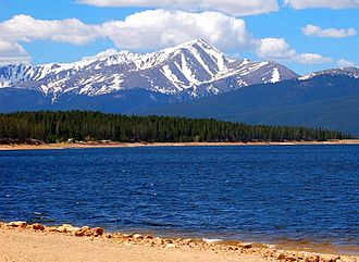 Mount Elbert - Image: Mt. Elbert