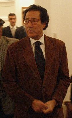 Mubarak's Minister of Culture Farouk Hosni وزير الثقافة المصري فاروق حسني.jpg