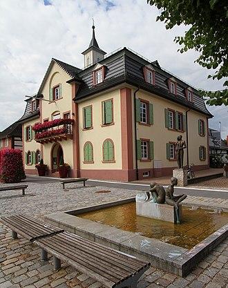 Muggensturm - Image: Muggensturm 12 Rathaus gje