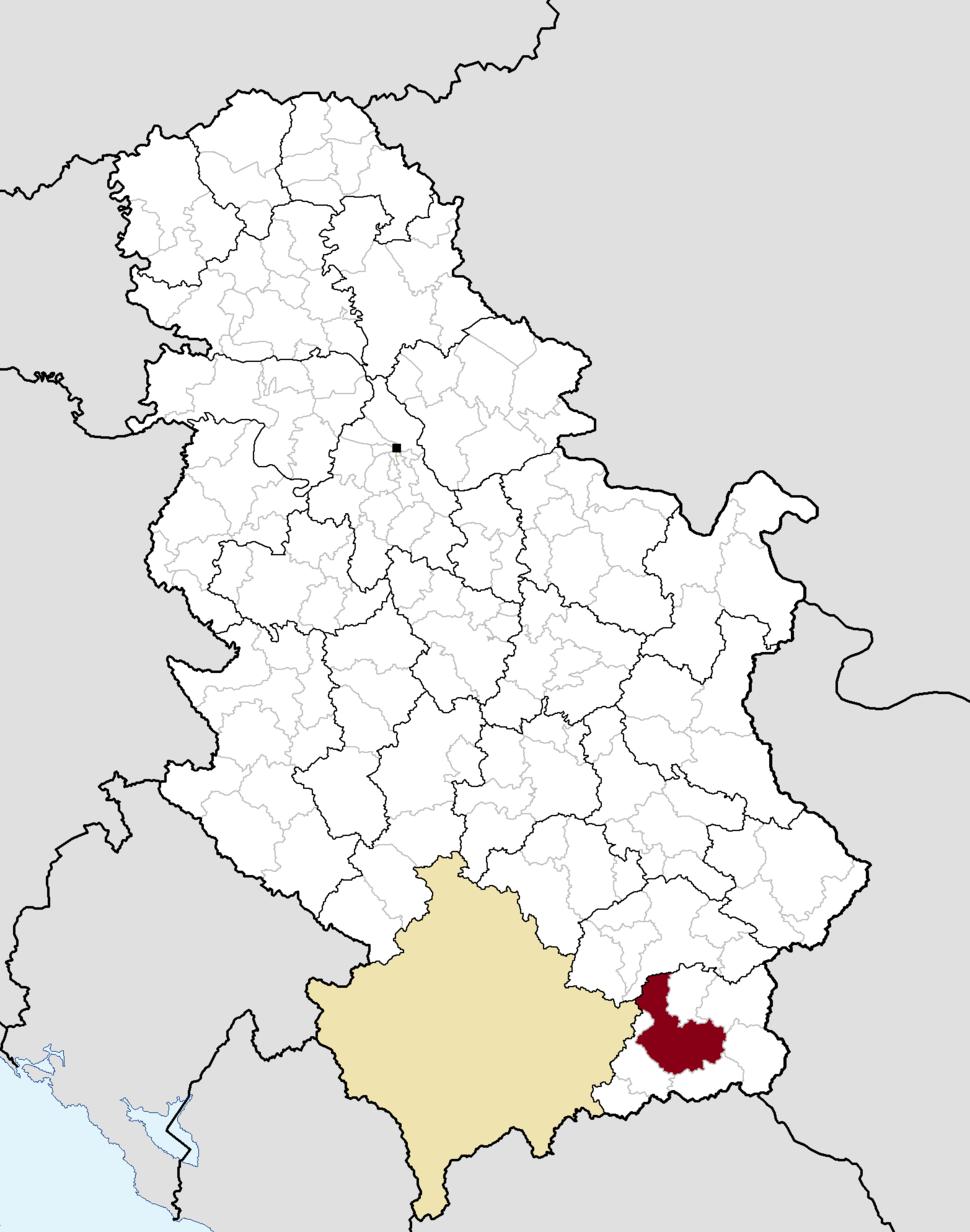 Municipalities of Serbia Vranje