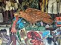Murales Rivera - Treppenhaus 2 Mexikanischer Adler.jpg