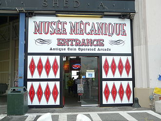 Musée Mécanique - Entrance to the Musée Mécanique