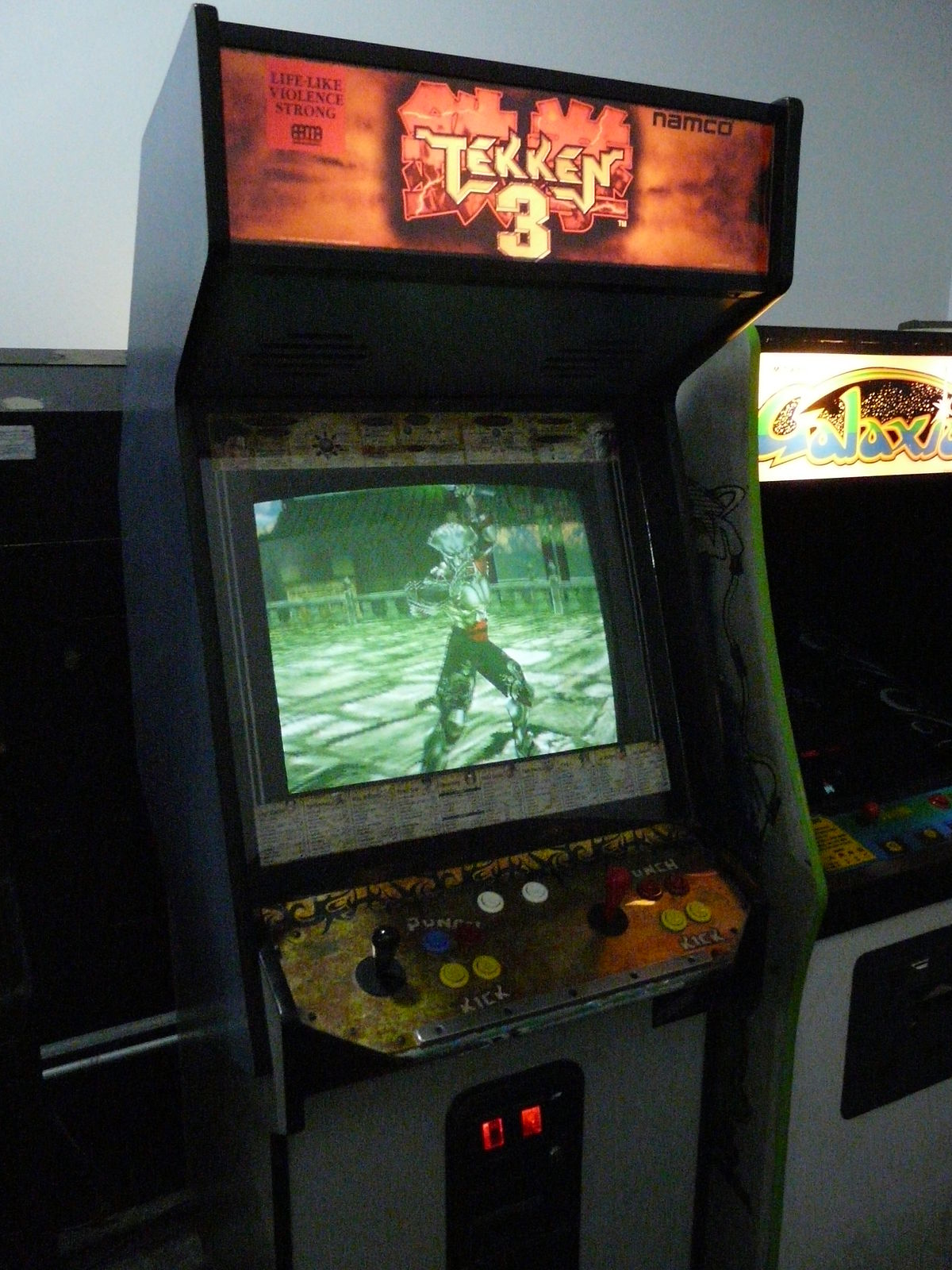 borne arcade tekken