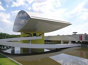 Museu Oscar Niemeyer 2 Curitiba Brasil