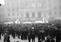 Musik und Truppen vor dem Bundeshaus während des Landesstreiks - CH-BAR - 3241468.tif