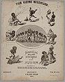 Muziekblad Tien kleine negertjes, 1879.jpg