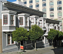 Oriel Windows In San Francisco California Usa