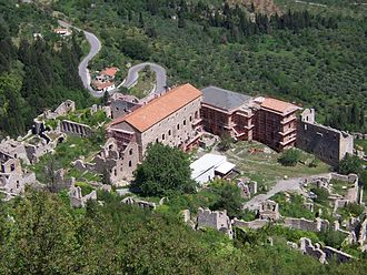 Laconia - Palace of Mystras