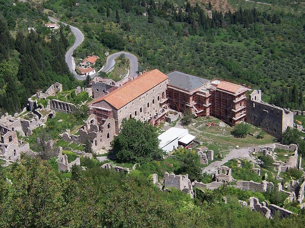 Mystras palace