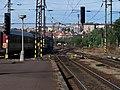 Nádraží Praha-Vršovice, 3. nástupiště, pohled k centru Prahy.jpg