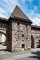 Nürnberg, Stadtbefestigung, Frauentormauer, Mauerturm Rotes L 20170616 001.jpg