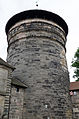 Nürnberg, Stadtmauer, Turm Grünes K, 002.jpg