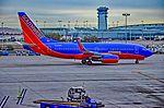 N209WN Southwest Airlines 2005 Boeing 737-7H4 serial 32484 - 1683 (23969497764).jpg