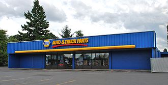 National Automotive Parts Association - NAPA retail store in a suburb of Portland, Oregon