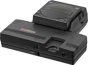 TurboGrafx-16 - The TurboGrafx-16/PC Engine was the first video game console capable of playing CD-ROM games with an optional add-on.