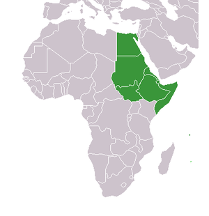 Northeast Africa - Countries within Northeast Africa.