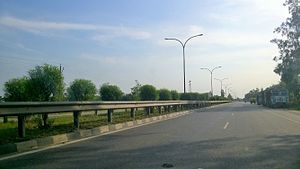 National Highway 28 (India)(old numbering) - NH 28 near Basti
