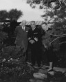 NH 62051 Fleet Admiral and Mrs. C.W. Nimitz in Garden.tiff