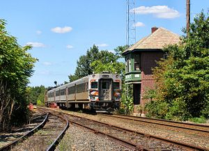 Winslow Township, New Jersey - Train at Winslow Junction