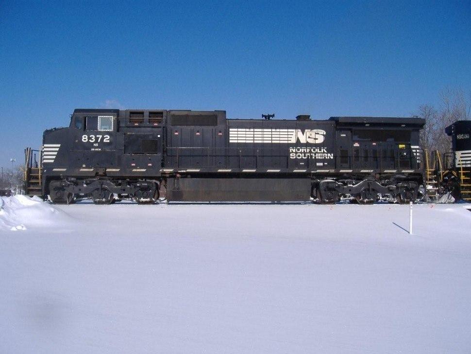 NS Loco No.8372