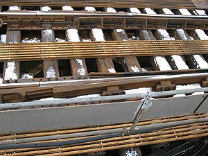 Breather switch - Expansion joint on Williamsburg Bridge, New York City Subway