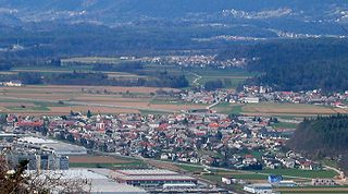 Naklo, Naklo Place in Upper Carniola, Slovenia