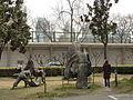 Nanjing University - statue of Zheng He - P1040726.JPG