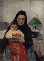 Nanny and baby by Igor Grabar, 1892.jpg