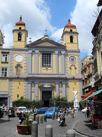 Santa Maria di Montesanto, Naples - Image: Napoli Chiesa di santa Maria di Montesanto