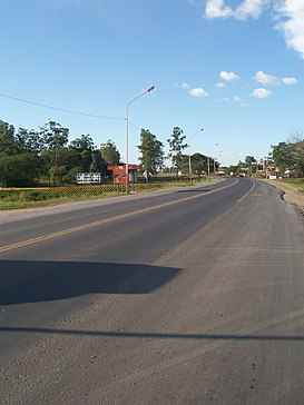 National Road 11 (Argentina) in Resistencia, Chaco.jpg