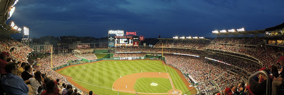 Nationals Panorama vs. Cubs