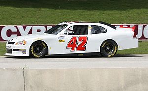 Tim Andrews - Andrews drove the Key Motorsports No. 42 at Road America in 2011.