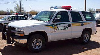 Navajo Nation - Navajo Police Chevrolet Tahoe