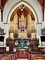 Nave, altar and organs of the Albert Street Uniting Church, Brisbane, Queensland 03.jpg