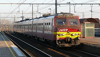 Belgian railway line 25 railway line in Belgium