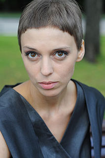 Nelli Uvarova Russian theater and film actress (born 1980)