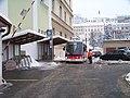 Nemocnice Pod Petřínem, zastávka elektrobusu.jpg