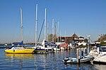 Netherlands, Kagerplassen, Kaagsociëteit jachthaven.JPG