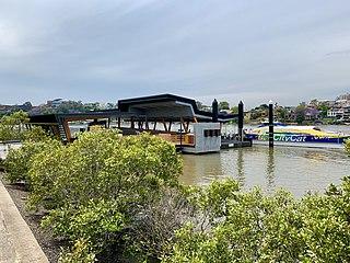 New Farm Park ferry wharf