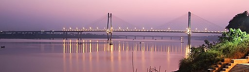 New Yamuna bridge, Allahabad