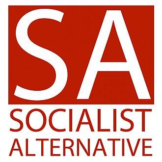 Socialist Alternative (Australia) - Image: New sa logo