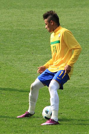 Football player Neymar