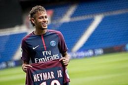 Neymar Jr official presentation for Paris Saint-Germain, 4 August 2017.