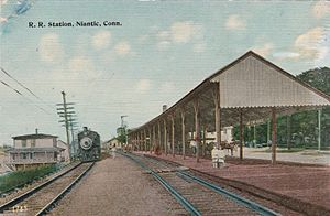Niantic station - Niantic station in 1915