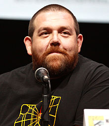 nick frost into the badlands