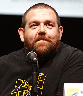 Nick Frost - Nick Frost at the San Diego Comic-Con International in July 2013