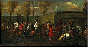 Nicolaas van Eyck - Riding School