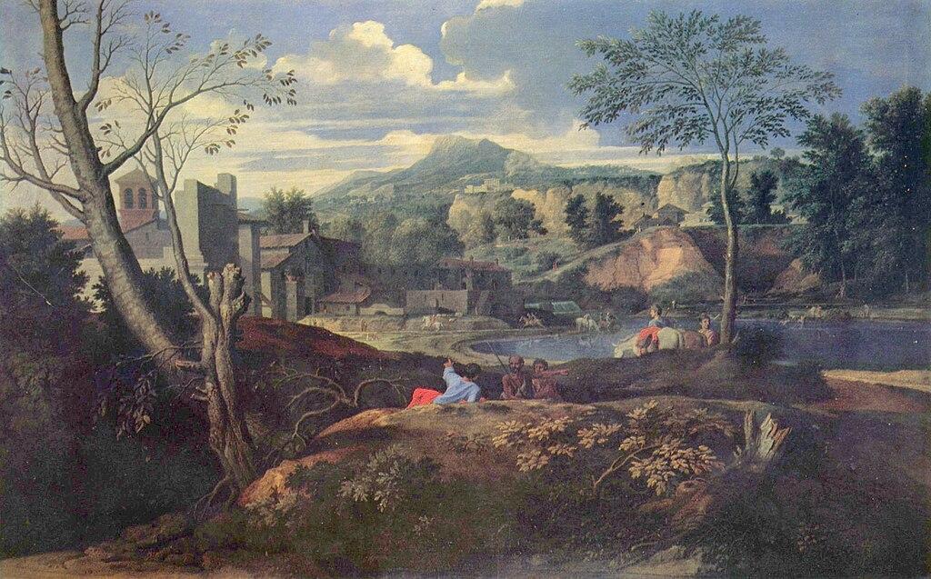 Fichier Nicolas Poussin Paysage Id 233 Al Jpg Wikip 233 Dia