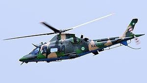 Nigerian Air Force - An AW109 helicopter